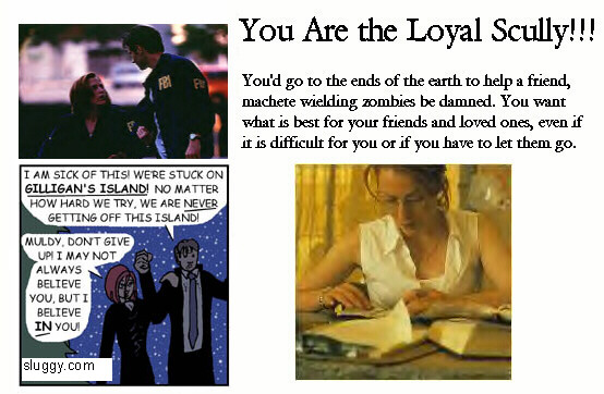 Click to find out which Scully you are!